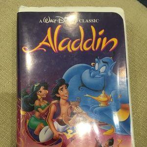 Walt Disney's Aladdin Vintage VHS Tape